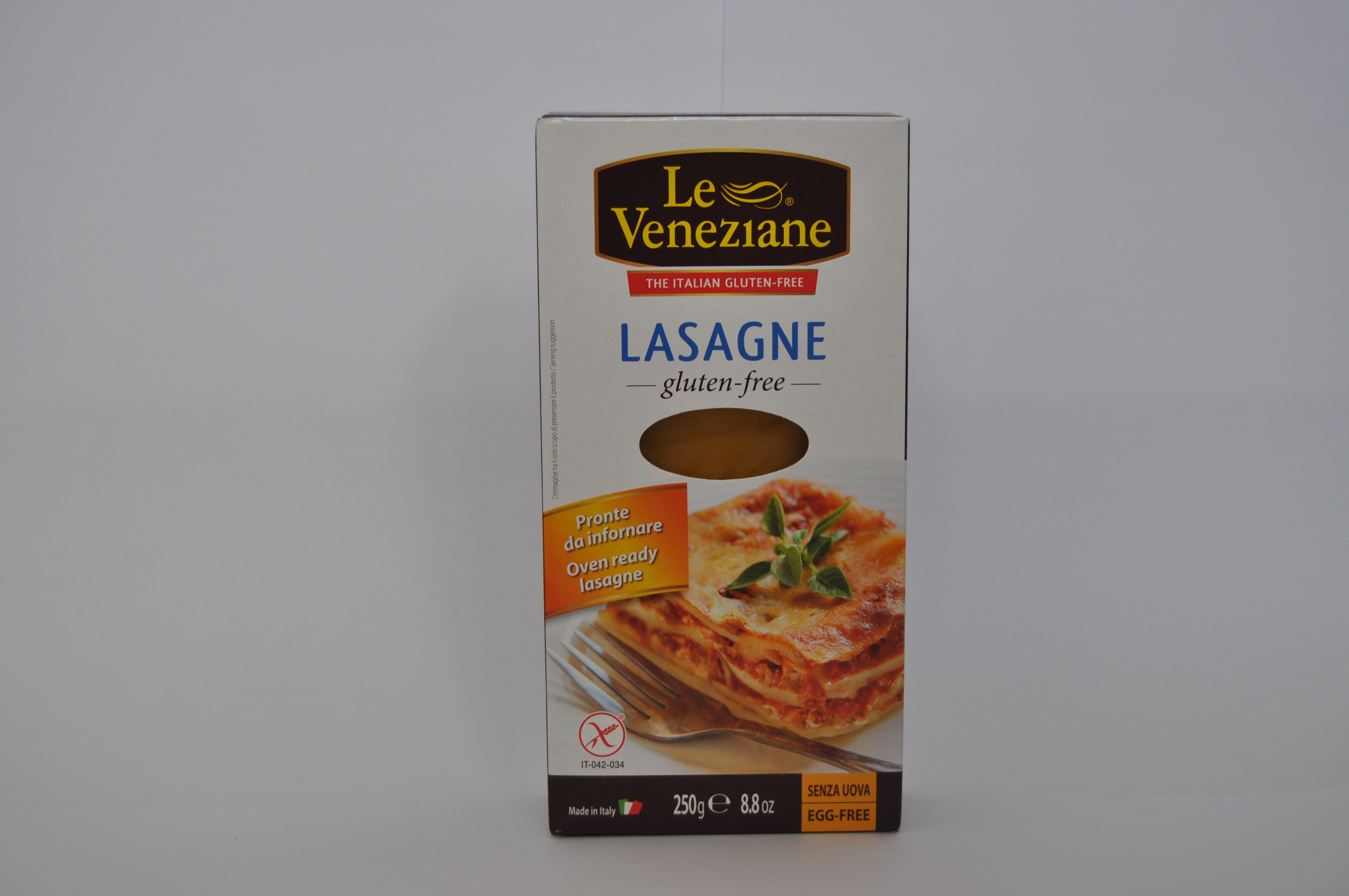 Le Veneziane lasagna blaadjes