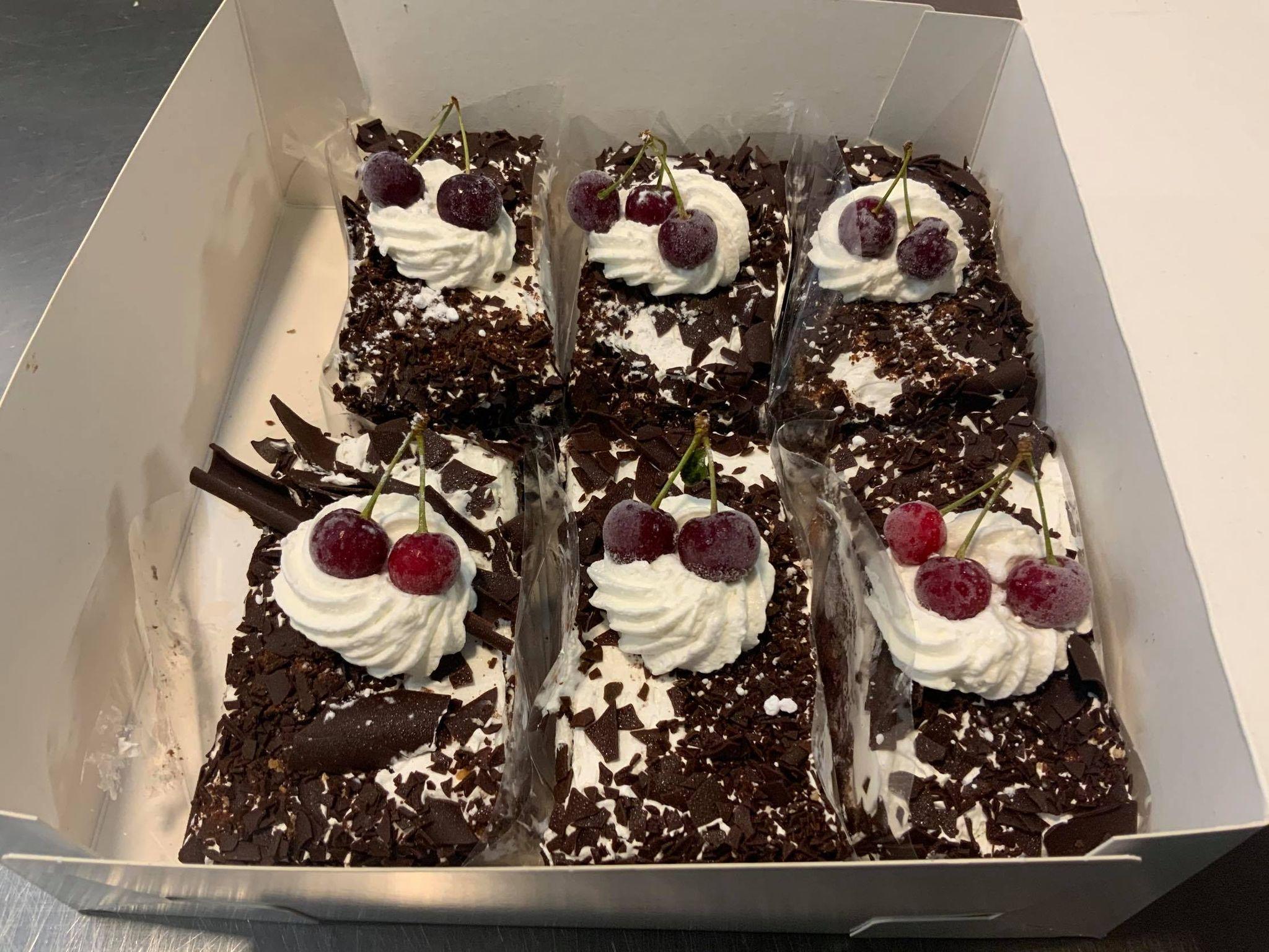 Zwarte Woud taart Doosje
