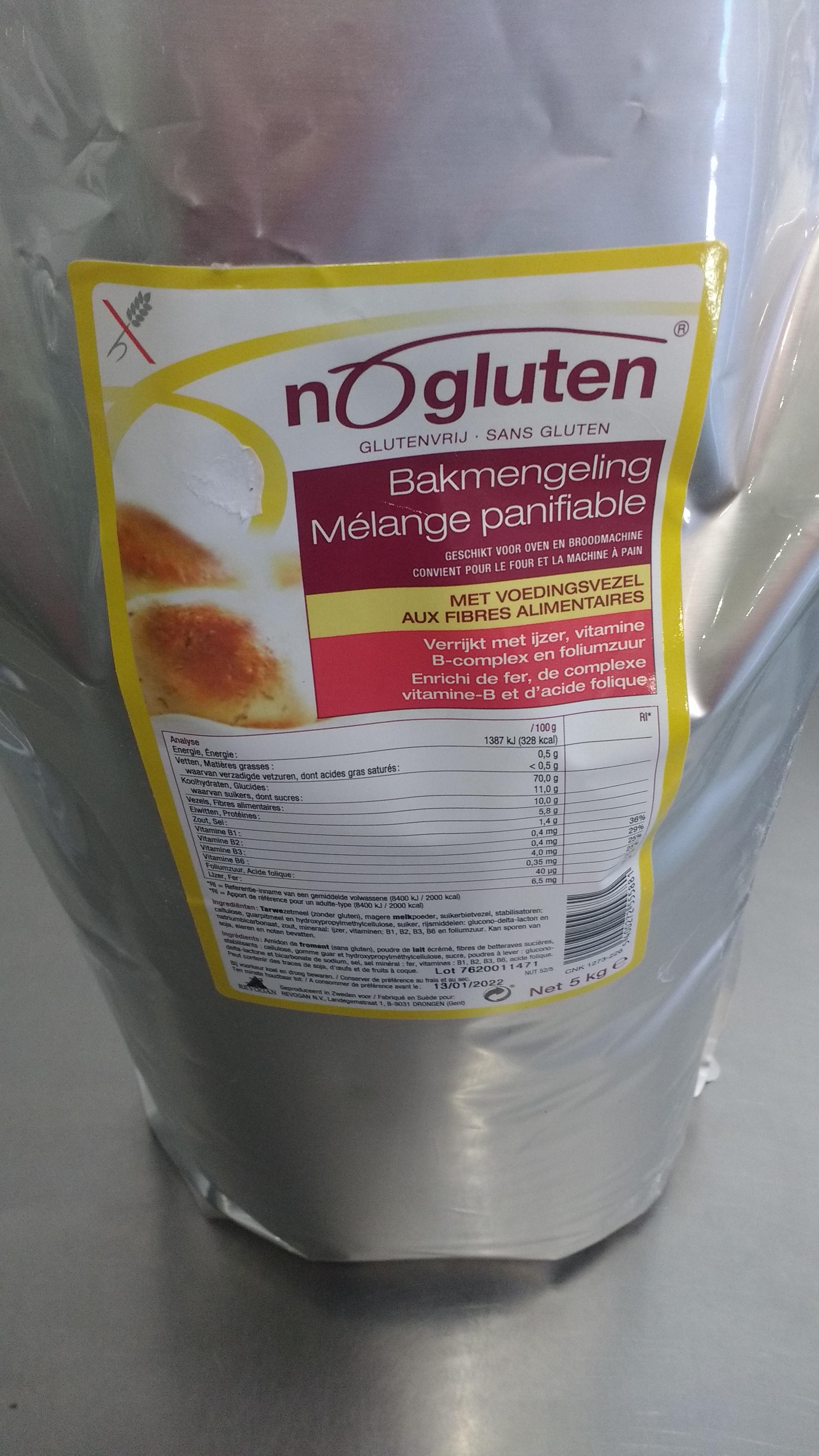 Nogluten Bloem Mix Bruin